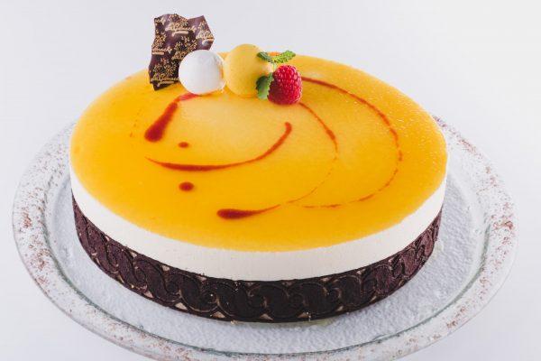 Torta pasijonka glazura pasijone skutin mousse