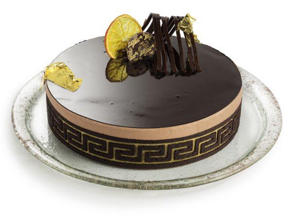 Torta Prestige ganache iz čokoladnega moussa